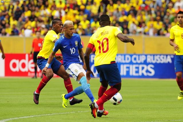 Ecuador vs Brasil 2
