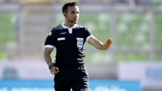 arbitro Cristian Garay