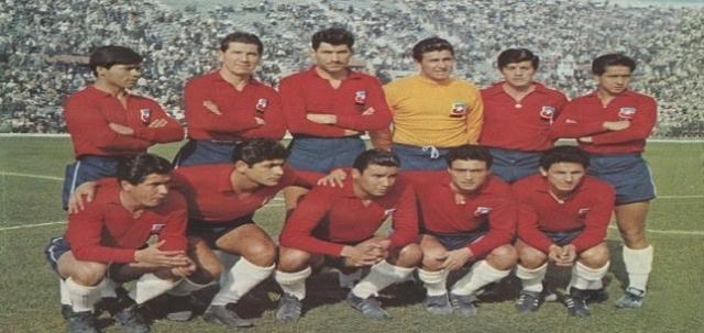 Selección Chile 1962