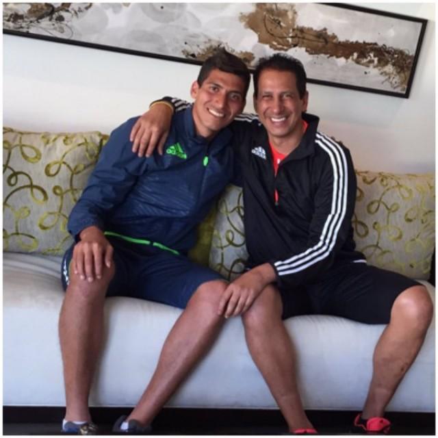 José Cevallos y el Junior