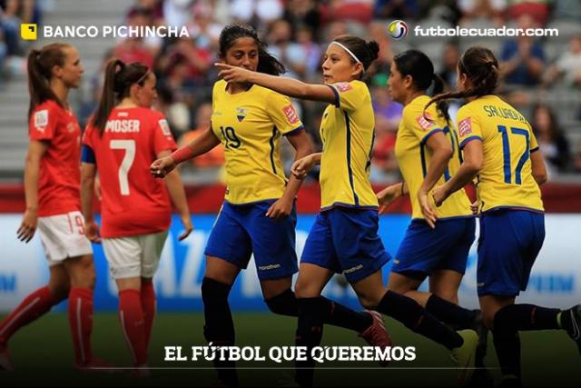 Ecuador Femenino 2