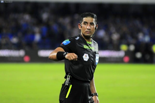 Arbitro Juan Carlos Albarracin 2