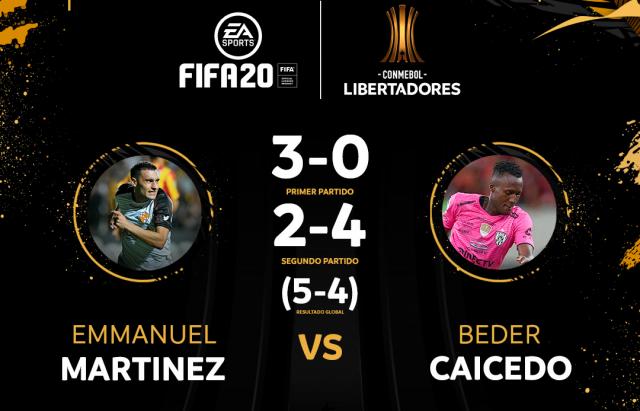 Martinez vs Caicedo