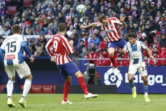 Atletico de Madrid 10