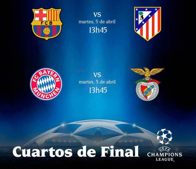 Horario Champios League