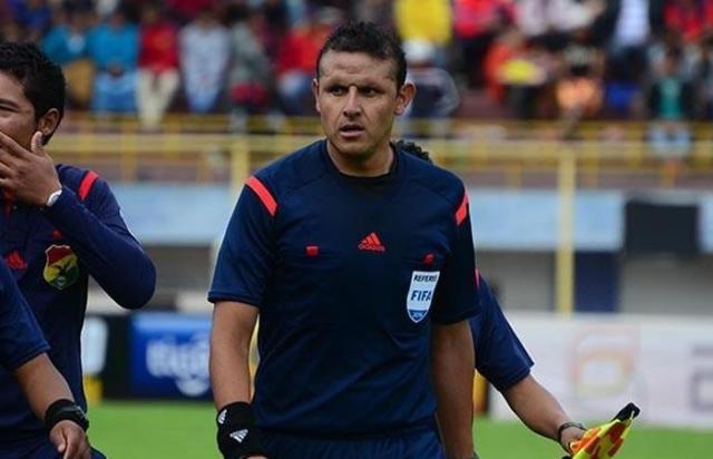 arbitro Gery Vargas