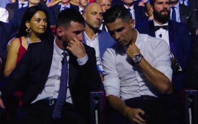Cristiano y Messi 6