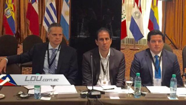 Esteban Paz y Jose Cevallos