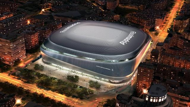 Estadio Santiago Bernabeu 2