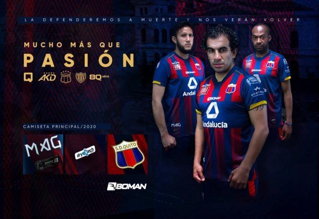 Deportivo Quito Uniforme 2020