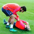 Lo cuenta Messi